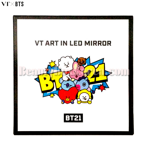 VT X BT21 Art in LED Mirror 1ea