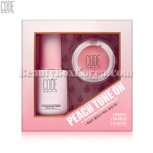 CODE GLOKOLOR N. Peach Blanc Primer Special Set 2items