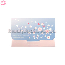 ETUDE HOUSE Cherry Blossom Patterned Oil Blotting Paper 25ea