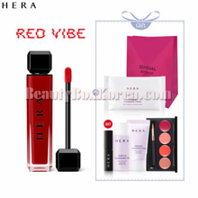 HERA Sensual Intense Velvet #339 Red Sienna Special Set 7items[Red Vibe],HERA