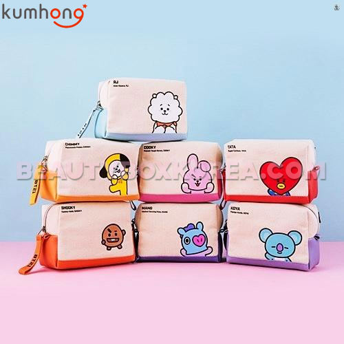 KUMHONG X BT21 Canvas Volume Pouch 1ea