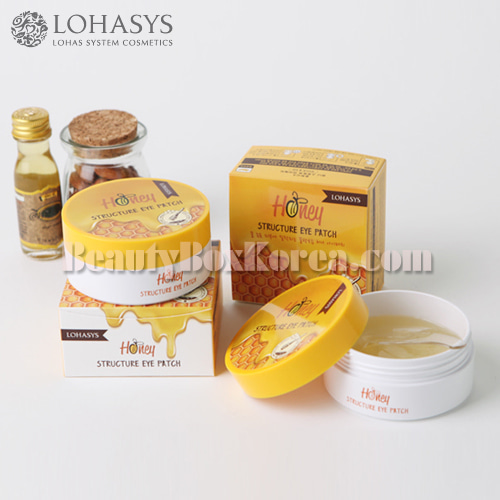 LOHASYS Honey Structure Eye Patch 60ea 100g