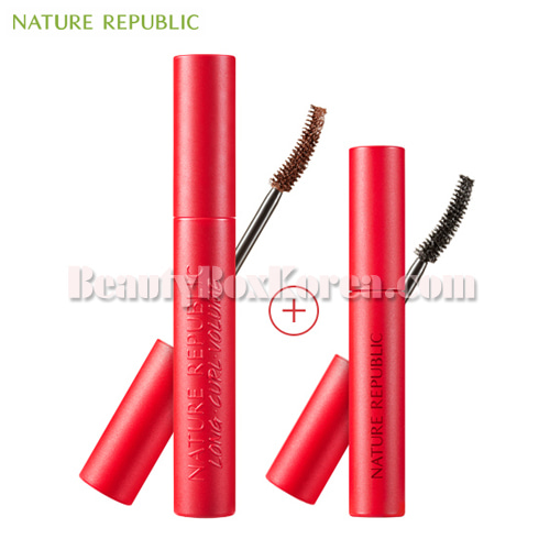 NATURE REPUBLIC Pro Touch Signature Muse Mascara Set 2items,NATURE REPUBLIC