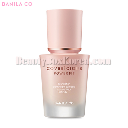 BANILA CO. Covericious Power Fit Foundation 30ml,BANILA CO.