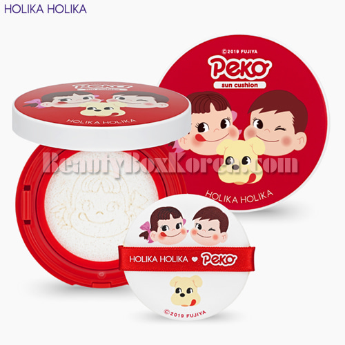 HOLIKA HOLIKA Mild Sun Cushion SPF 45 PA+++ 13g[Sweet Peko Edition],HOLIKAHOLIKA