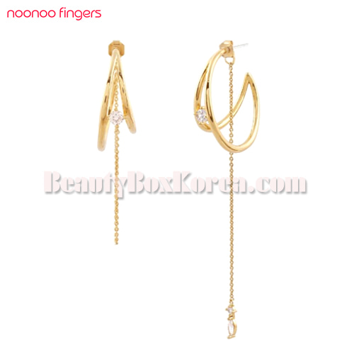 NOONOO FINGERS Tightrope02 Earrings 1ea