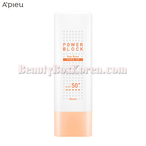A'PIEU Power Block Tone Up Sun Base (Beige) SPF50+ PA++++ 50ml
