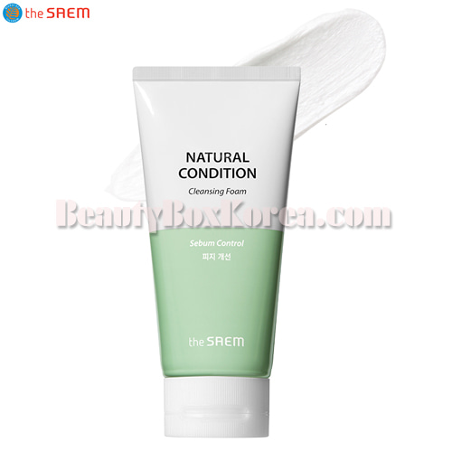 THE SAEM Natural Condition Cleansing Foam 150ml,THE SAEM