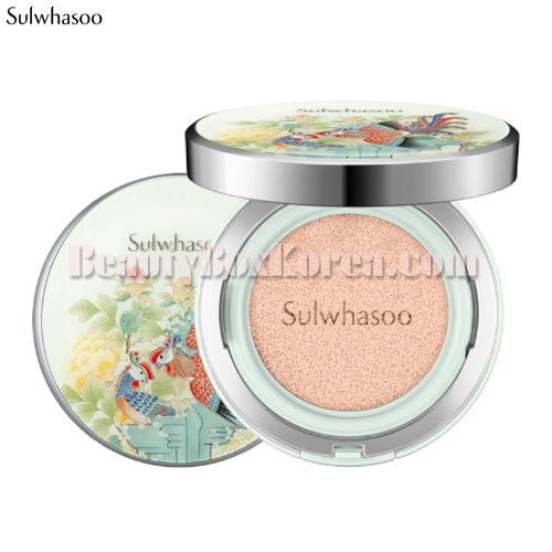 SULWHASOO Snowise Brightening Cushion SPF50+ PA+++ 14g*2[Phoenix Collection],SULWHASOO