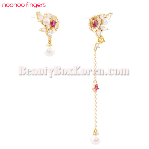 NOONOO FINGERS Chignon Ornament Earrings 1ea