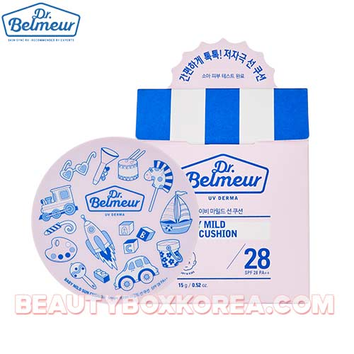 THE FACE SHOP Dr.Belmeur UV Derma Baby Mild Sun Cushion SPF28 PA++ 15g