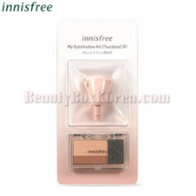 INNISFREE My Eyeshadow Kit Two Tone 2.2g + My Changeable Brush 1ea [LIMITED]