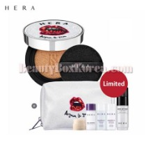 HERA Black Cushion SPF34/PA++ Set 7items [Au Jour Le Jour Collection],Beauty Box Korea