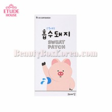 ETUDE HOUSE Sweat Patch 20sheets [Online Excl.],Beauty Box Korea