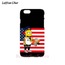 RAFFINE CHAT Simpson Stars & Stripes Black Tough Phonecase, RAFFINE CHAT