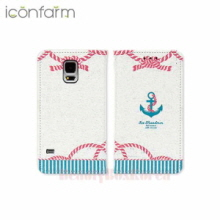 ICONFARM 4Items Naval Bundle Book Diary Phone Case