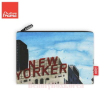 ALL NEW FRAME New York City Pouch 1ea,Beauty Box Korea
