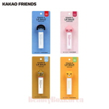 KAKAO FRIENDS On The Body Lip Balm 4.8g 1ea,LG HOUSEHOLD & HEALTH CARE Ltd.,Beauty Box Korea