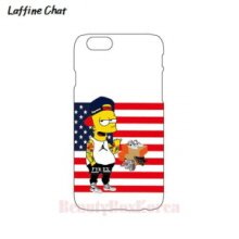RAFFINE CHAT Simpson Stars & Stripes White Tough Phonecase, RAFFINE CHAT
