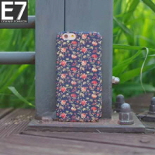 E7 Rose Dark Hard Phonecase, E7