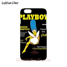 RAFFINE CHAT Simpson Playboy Black Hard Phonecase, RAFFINE CHAT