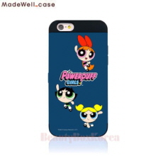 MADEWELL-CASE Power Puff Girls Card Bumper Phone Case Threesome,Beauty Box Korea