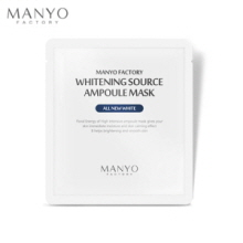 MANYO FACTORY Whitening Source Ampoule Mask 25ml, MANYO FACTORY