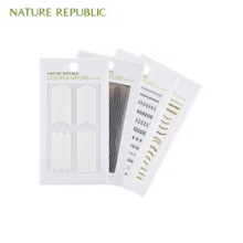 NATURE REPUBLIC Color&Nature Nail Sticker 1ea (#1,2), NATURE REPUBLIC