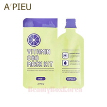 A'PIEU Vitamin C80 Mask Kit 27ml, A'Pieu