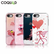 COQUAD 7Kinds Pink Panther Slim Phone Case