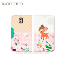 ICONFARM 4Item Happy Bundle Book Diary Phone Case