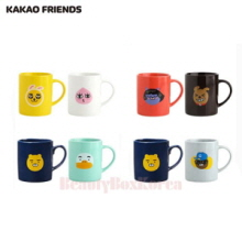 KAKAO FRIENDS Face Mug Cup 2ea Set,Mu&U,Beauty Box Korea