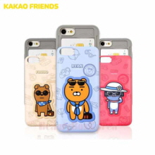 KAKAO FRIENDS Travel Slide Card Bumper Phone Case,Beauty Box Korea