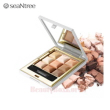 SeaNtree 3X3 Cube Eye Shadow 10g,Beauty Box Korea