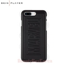 SKIN PLAYER Marvel Bumpy Black Edition Phone Case,Beauty Box Korea