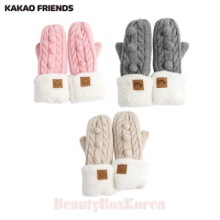 KAKAO FRIENDS Junior Knit Mittens Popcorn Gloves 1ea