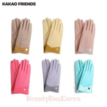 KAKAO FRIENDS Patches Embroidery Woolen Gloves 1ea