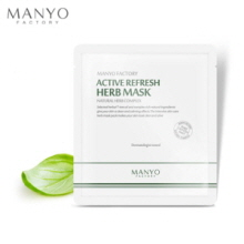 MANYO FACTORY Active Refresh Herb Mask 25ml, MANYO FACTORY