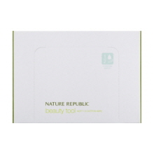 NATURE REPUBLIC Beauty Tool Soft 1/2 Cotton Wipe 120p, NATURE REPUBLIC