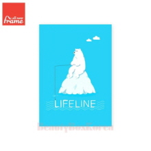 ALL NEW FRAME Life Line Mini Note 1ea,Beauty Box Korea