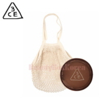3CE Net Bag Round Mesh Pouch Set 1ea