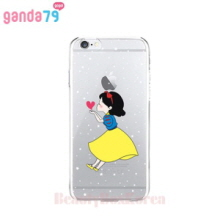 GANDA79 8Items Princess Chu Clear Jelly Phone Case