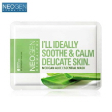 NEOGEN Dermalogy Mexican Aloe Essential Mask 23ml x 10p, NEOGEN