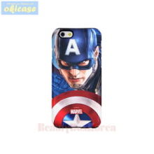OKICASE Marvel Avengers Silicone Bumper Phone Case Captain,Beauty Box Korea