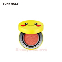 TONYMOLY Pokemon Collaboration Pikachu Mini Cushion Blusher 9g, TONYMOLY