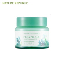 NATURE REPUBLIC Polynesia Lagoon Water Hydro Cream 55ml (Online exclusive), NATURE REPUBLIC
