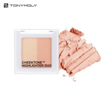 TONYMOLY CheekTone Highlighter Duo 4.5g, TONYMOLY