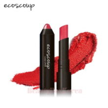 ECOSCOUP Lovely Lips Crayon Color Stick 4g,Beauty Box Korea