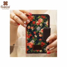 FLABONI Meomory of The Old Nosegay Vintage Lady Dark Wallet Phonecase,FLABONI ,Beauty Box Korea