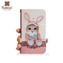 FLABONI The Kitty Wanna be a Rabbit Wallet Phone Case